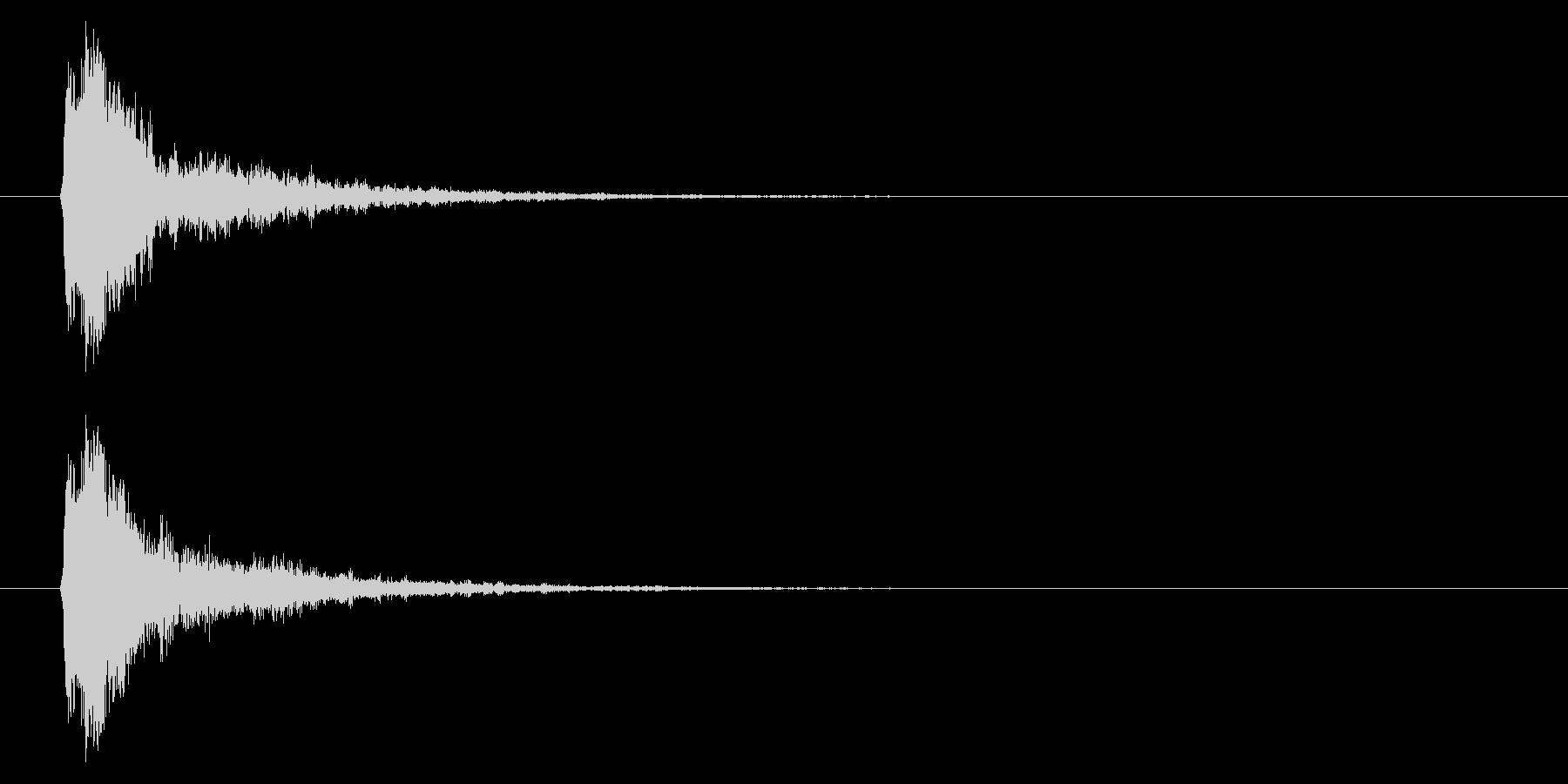 打撃06-5の未再生の波形