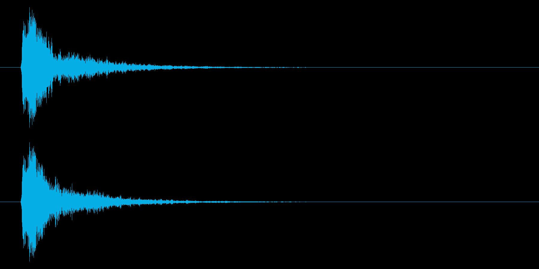 打撃06-5の再生済みの波形