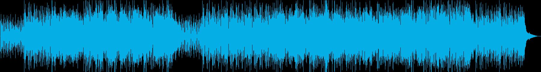 清々しい早めのボサノバボーカルバージョンの再生済みの波形