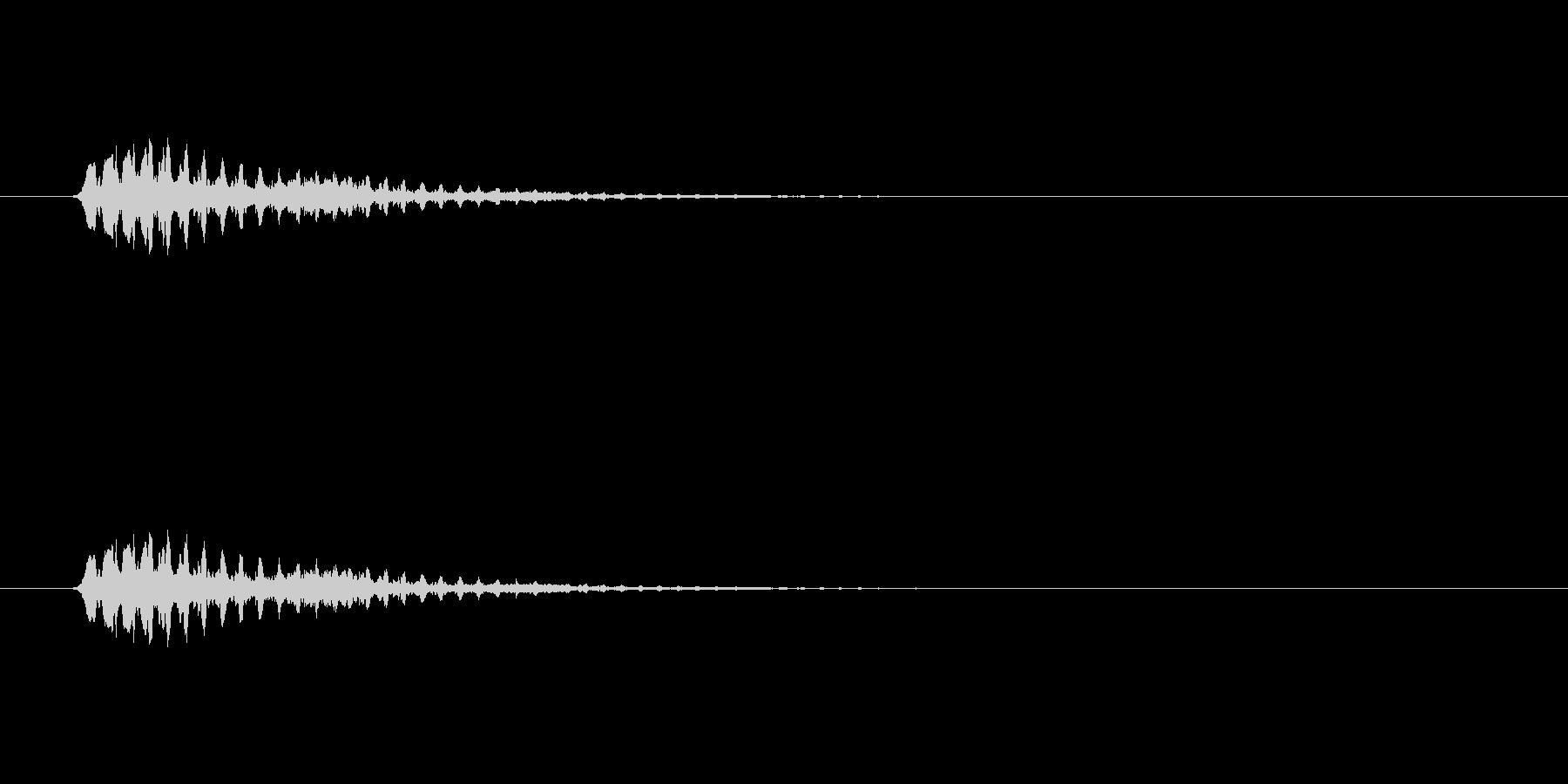 【ショートブリッジ12-3】の未再生の波形