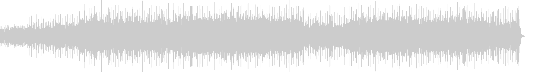 ハード・ポップ(ダンサブル!)の未再生の波形