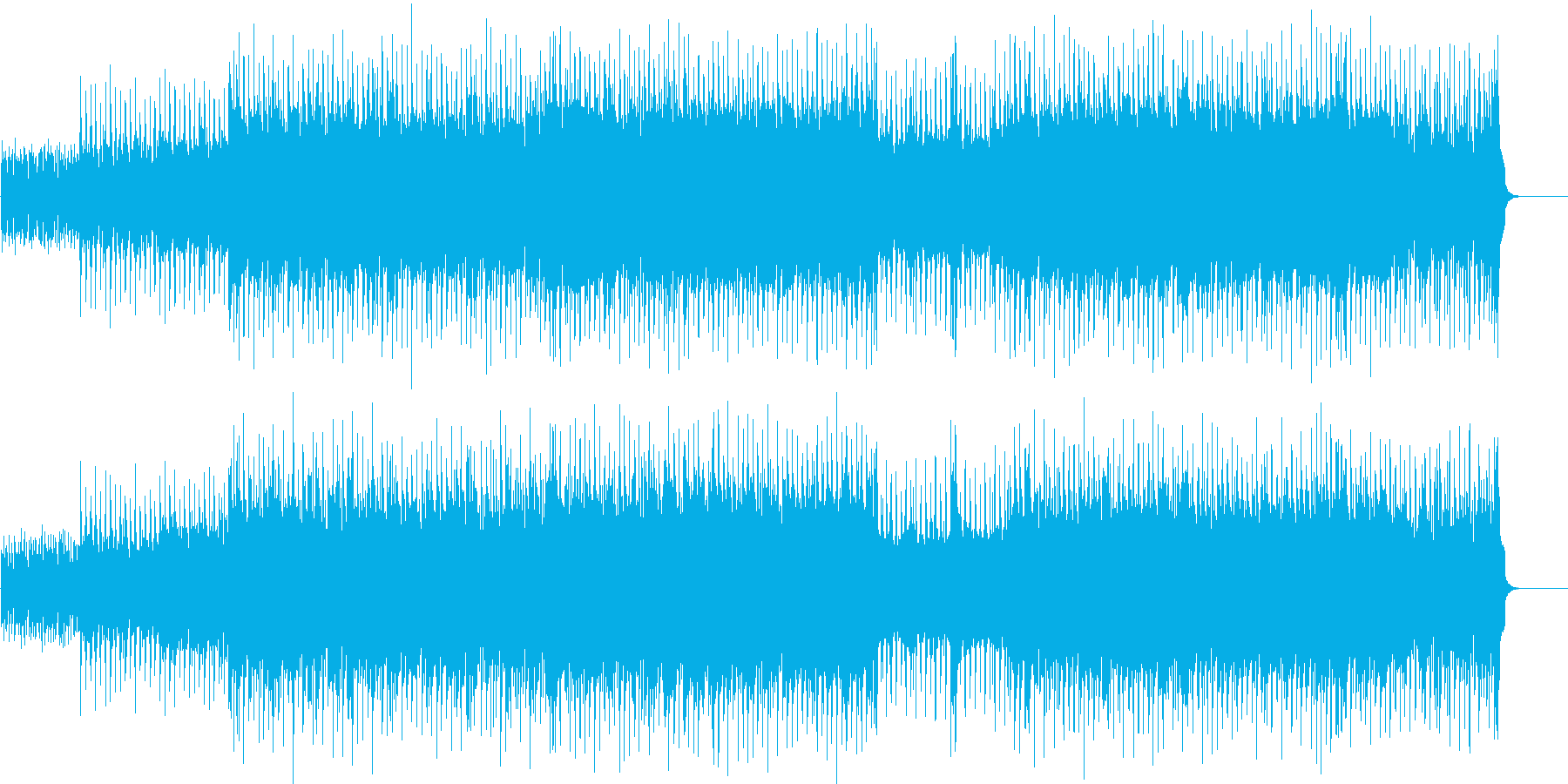 ハード・ポップ(ダンサブル!)の再生済みの波形