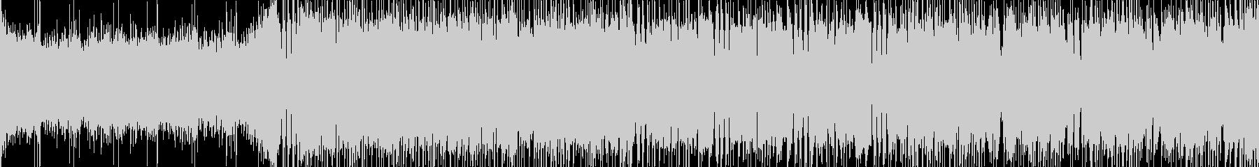 三味線のメタル調和風バトル曲【ループ可】の未再生の波形