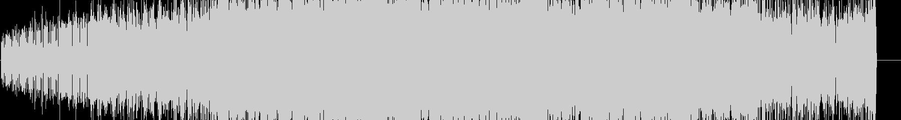 シンセを使った近未来風BGMの未再生の波形