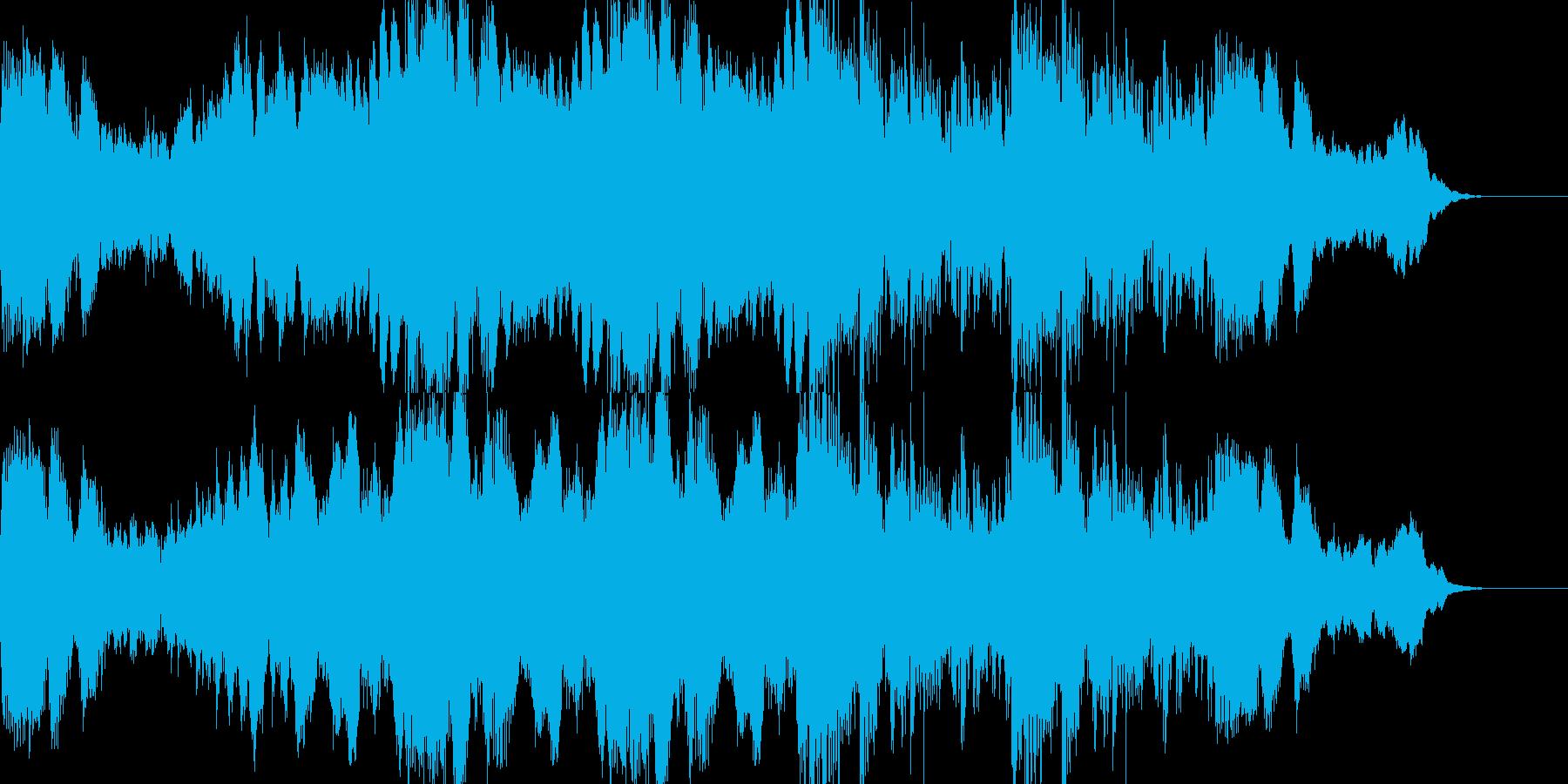 ホラーやサスペンスに合う暗いアンビエントの再生済みの波形