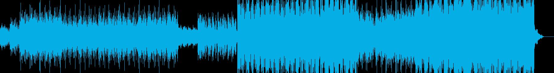 エスニック風エレクトロポップの再生済みの波形
