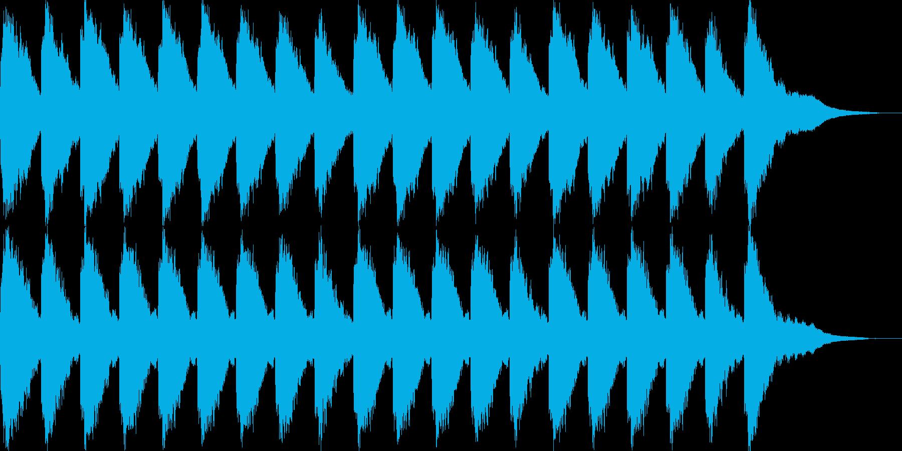 ガラーン・ガラーン…(大聖堂・教会の鐘)の再生済みの波形