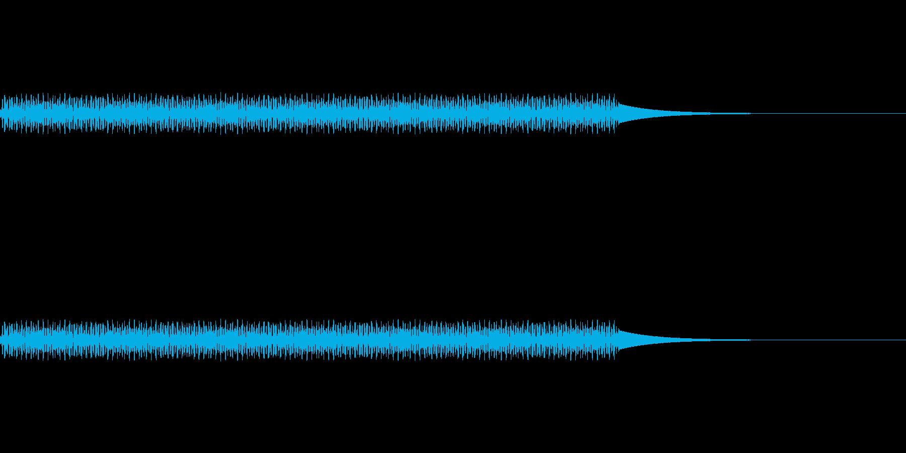 電話/ボタン/押す/プッ/タイプ1の再生済みの波形