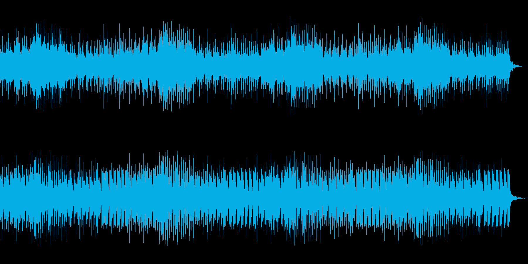 ピアノ主体のホラー向けBGM 恐怖の演出の再生済みの波形