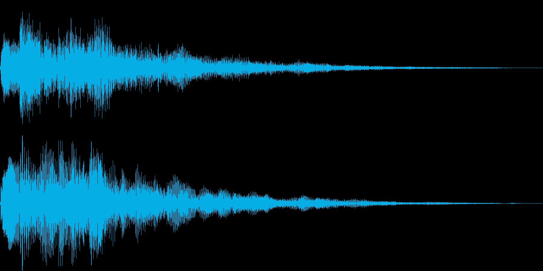 ピロロロン(タイトル表示、スワイプ)の再生済みの波形
