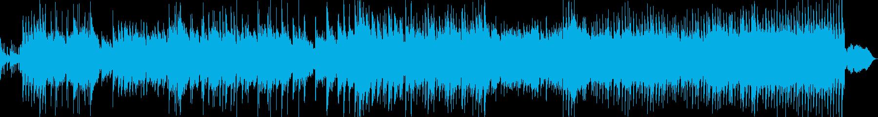 和風BGMオーケストラピアノ楽曲映像の再生済みの波形