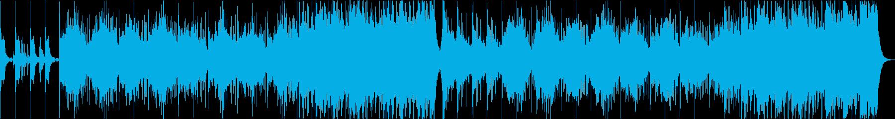 民族音楽系ダンジョンBGMの再生済みの波形