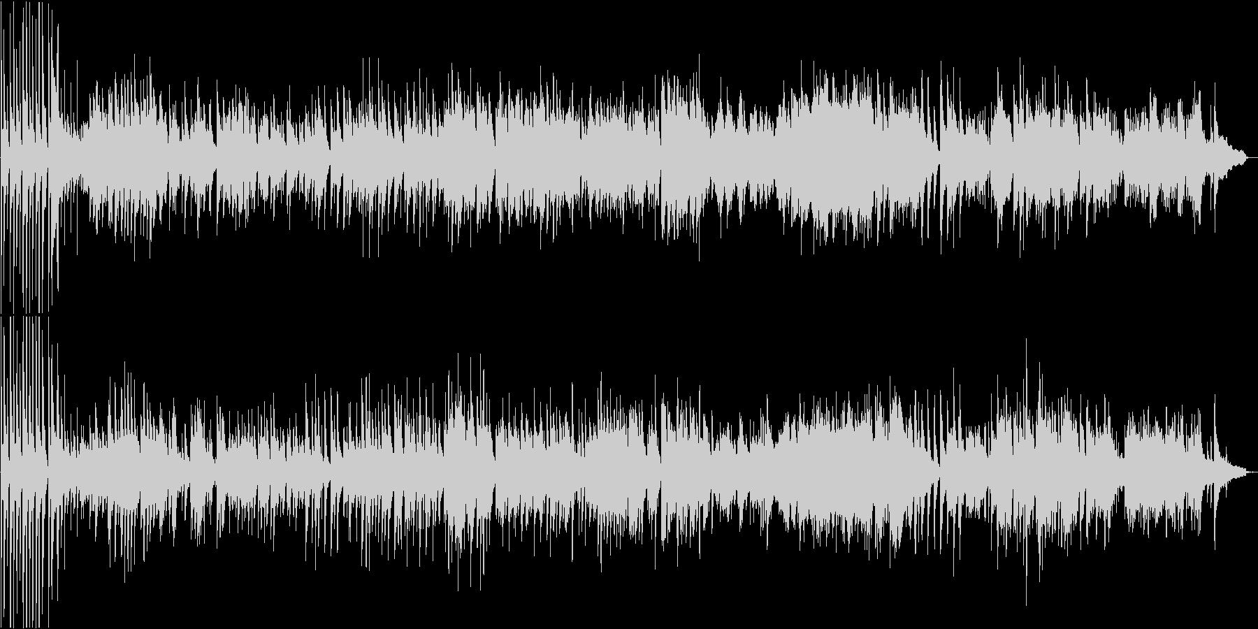 芸術性の高い変拍子のピアノソロ楽曲の未再生の波形