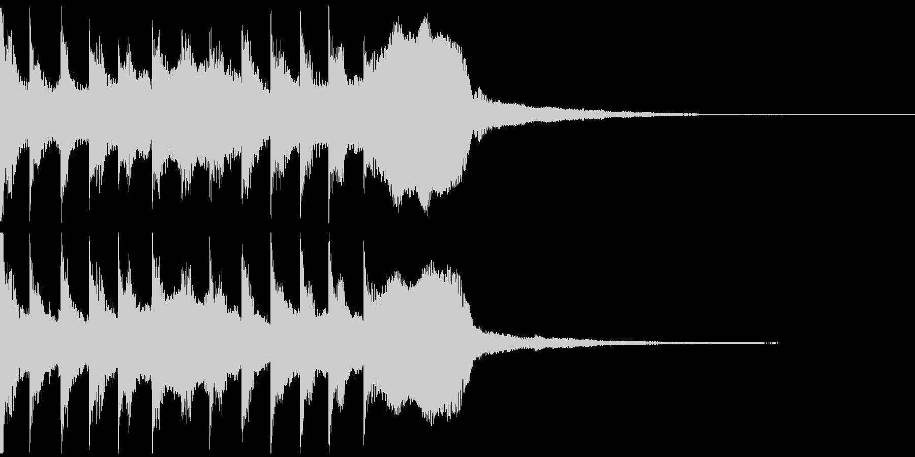 サウンドロゴ、ゴージャス感、verDの未再生の波形