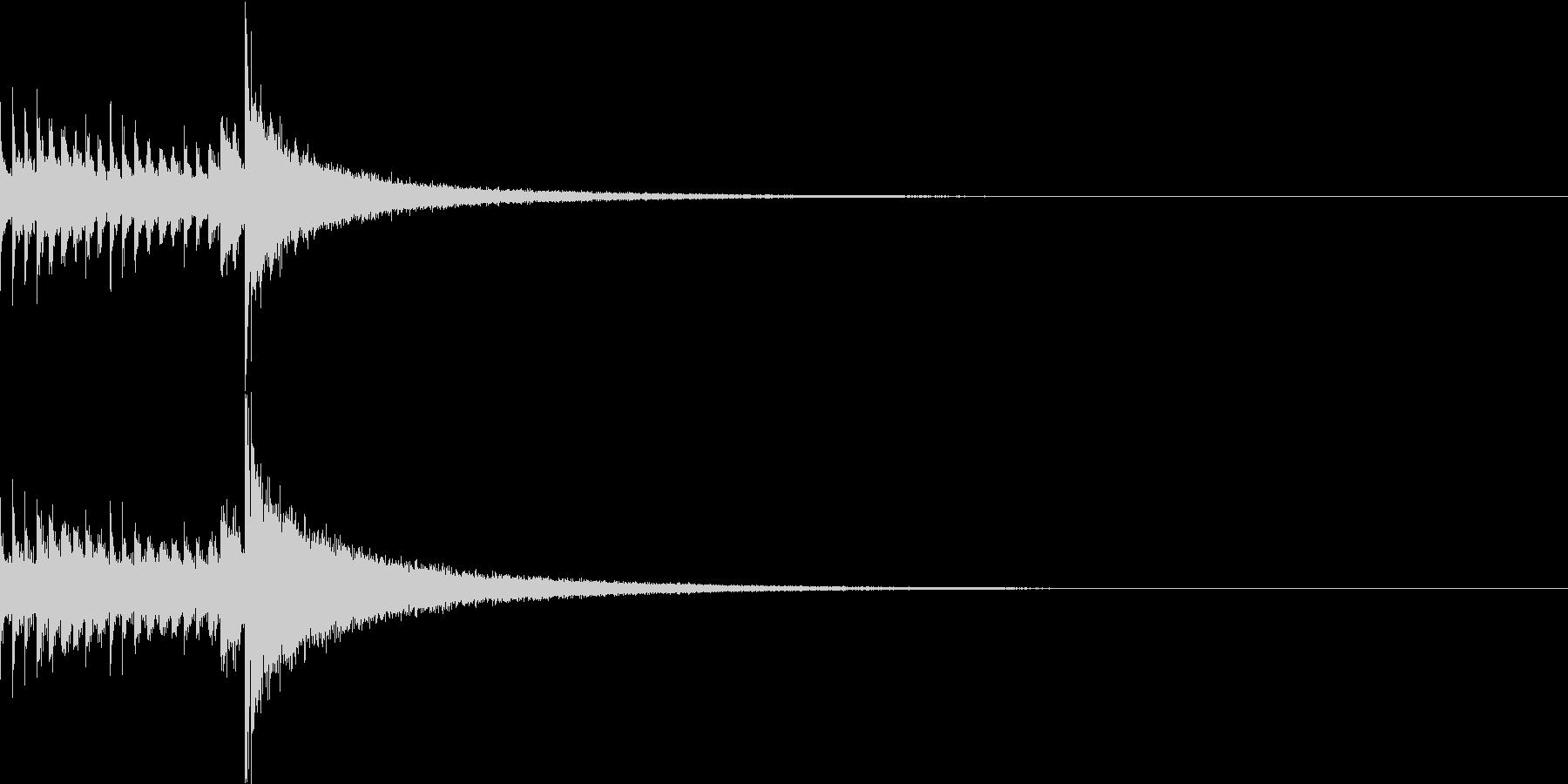 ドラムロール/ショート/ドロロロロ/1の未再生の波形