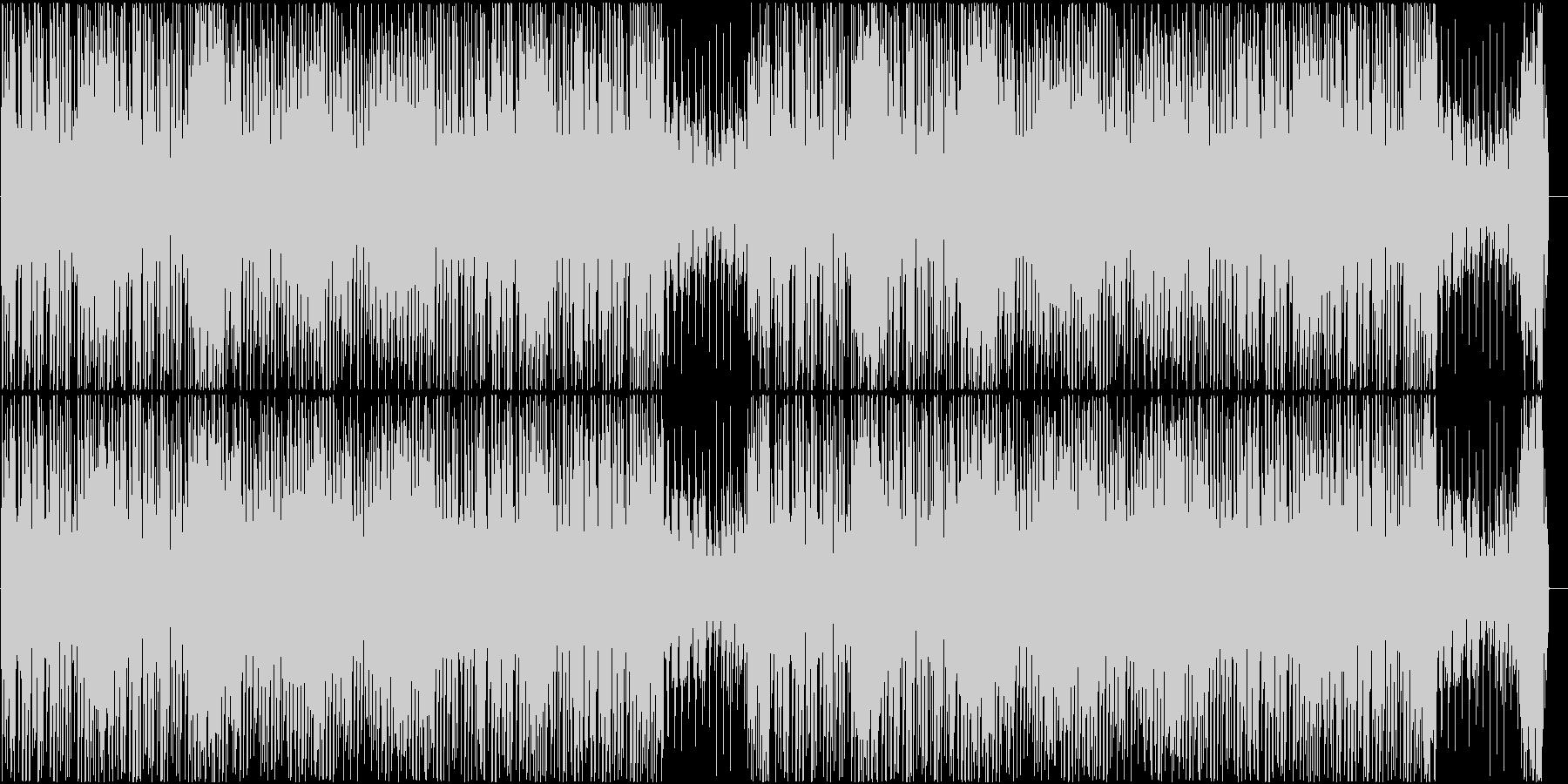 ポップでかわいい、コミカルなCM曲の未再生の波形