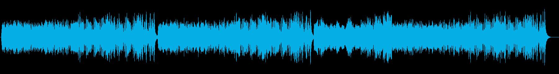 ワルツ 華麗で優雅な舞踏会 交響曲の再生済みの波形