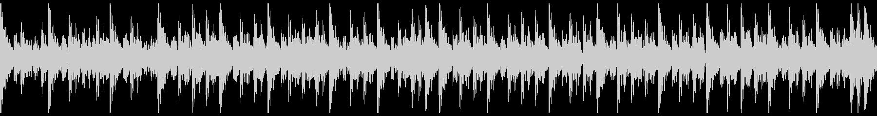 和太鼓(中太鼓)ソロ スローの未再生の波形