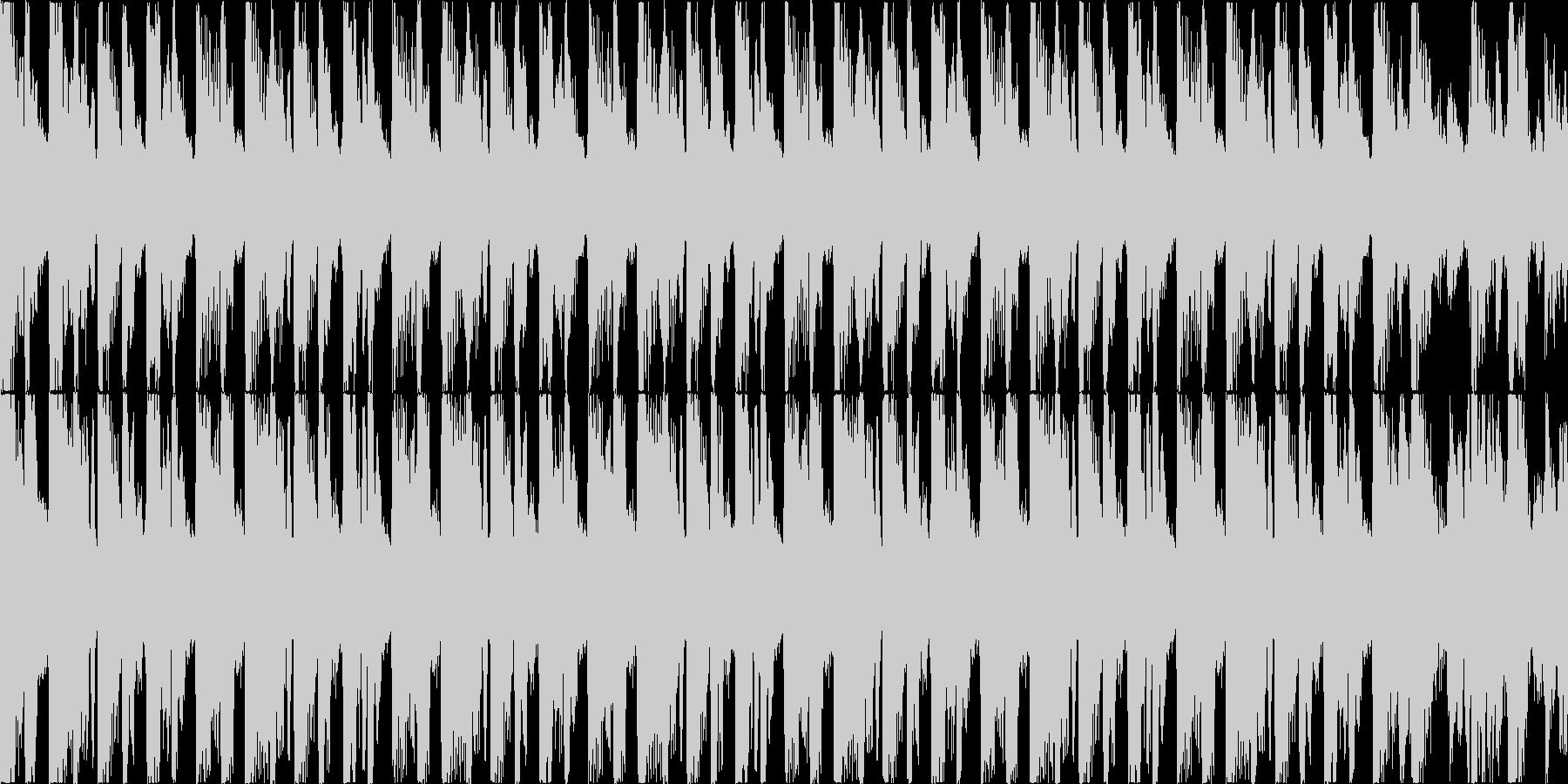 【ループD】ゴキゲンなスウィングをダンスの未再生の波形