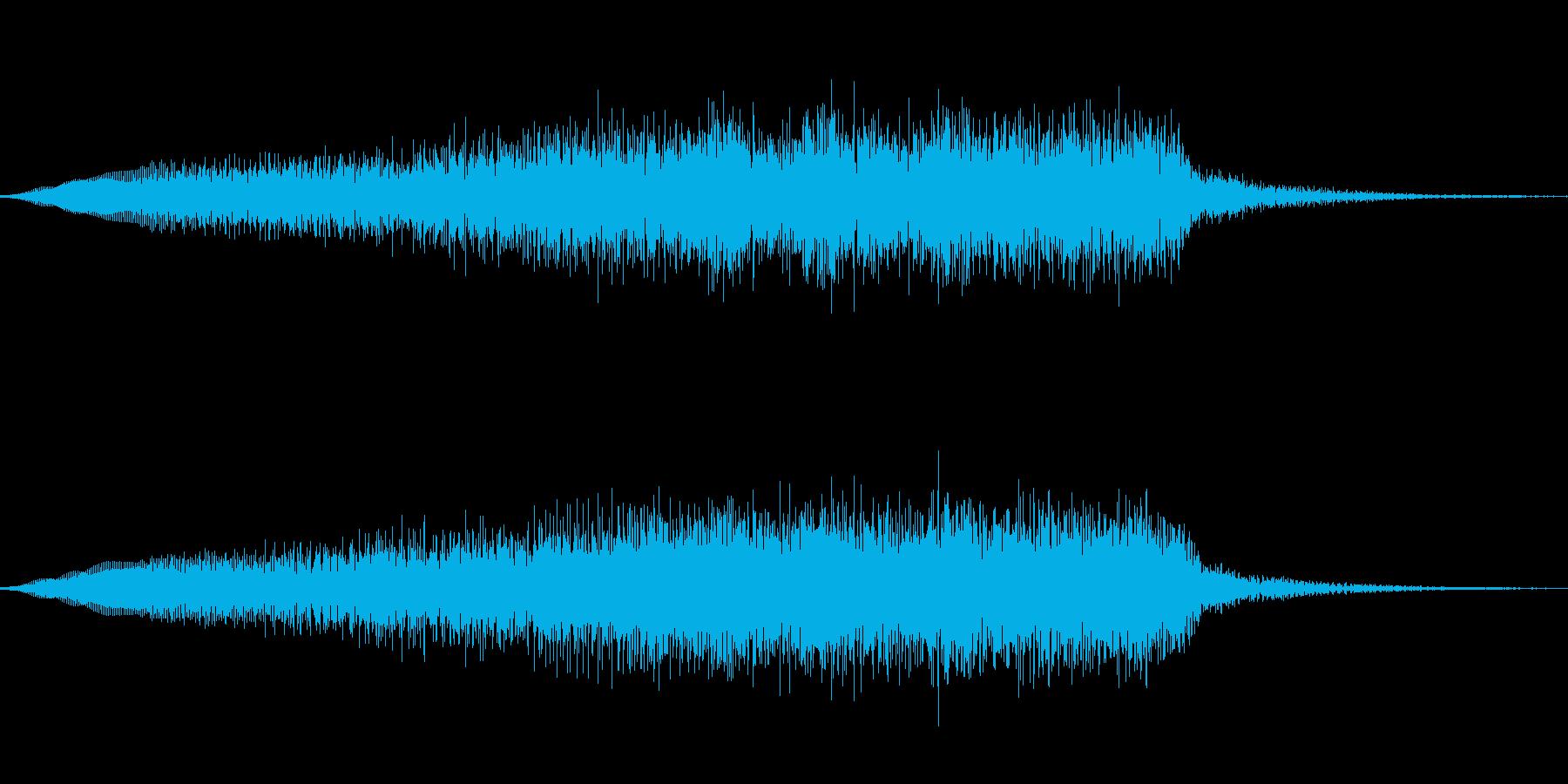 ジングル101nの再生済みの波形