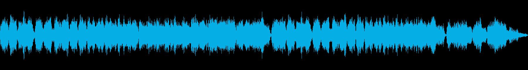 フルートとハープによる子守歌風の曲です。の再生済みの波形