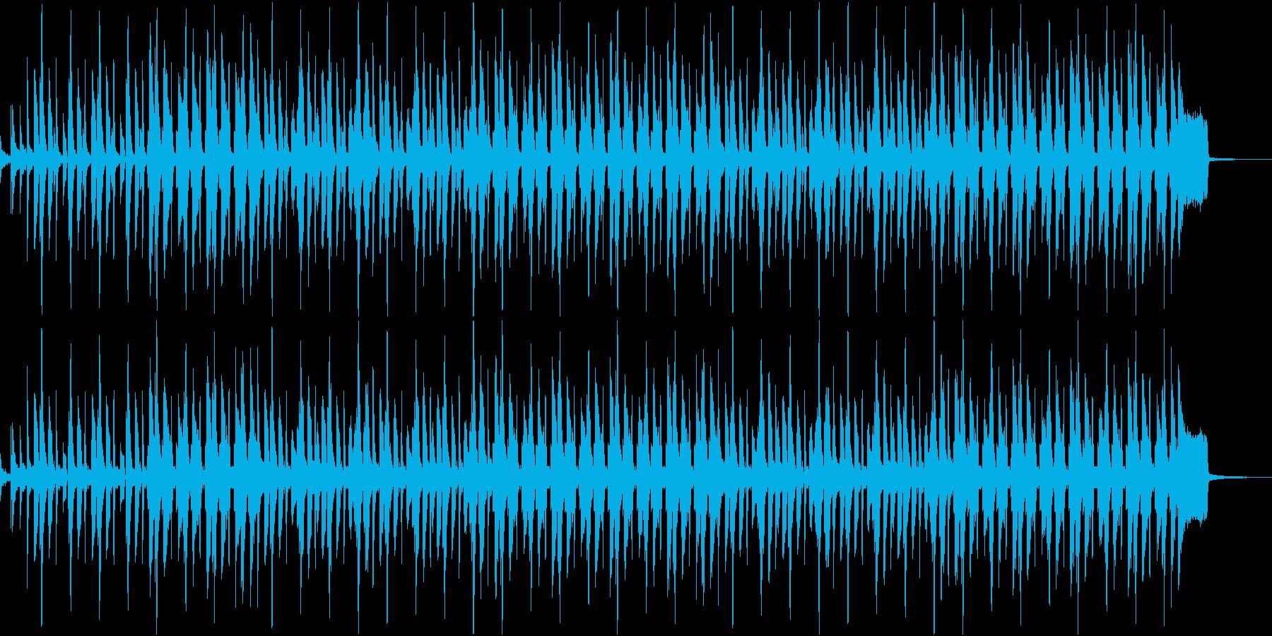 ふてくされているようなイメージのレゲエの再生済みの波形
