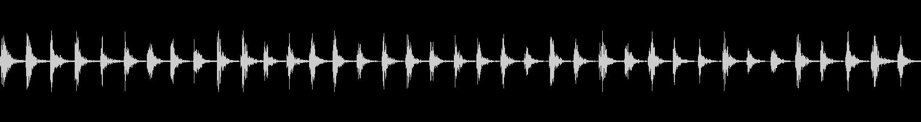 【足音01-2L】の未再生の波形