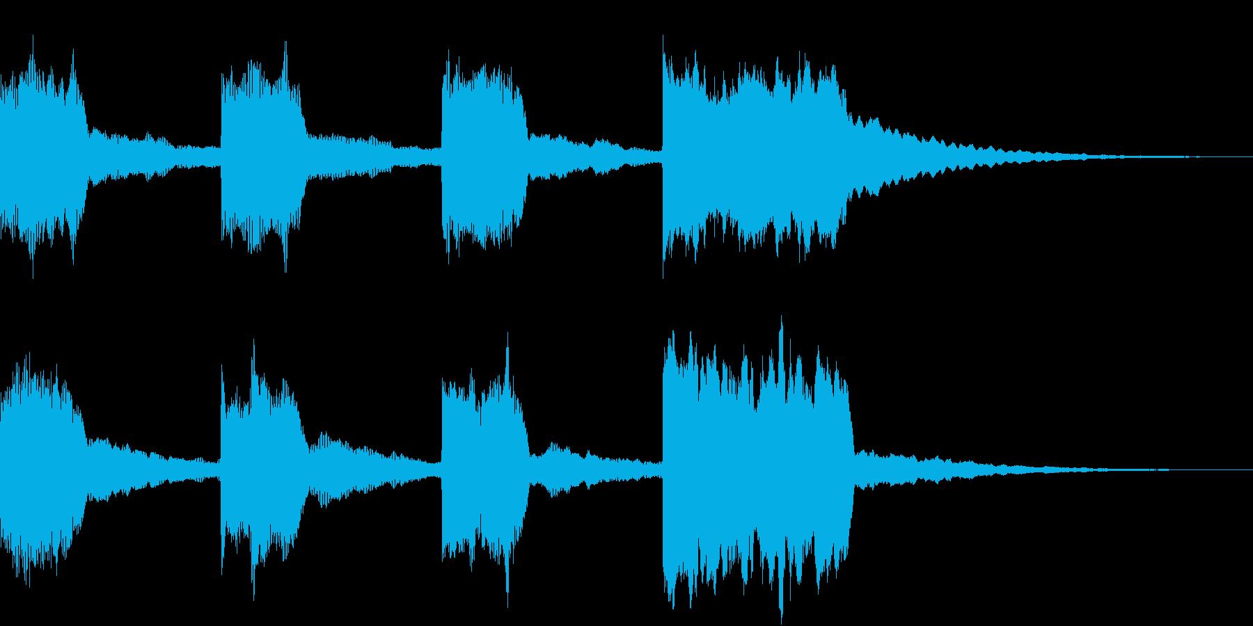 GP レースのスタートカウントダウン 5の再生済みの波形