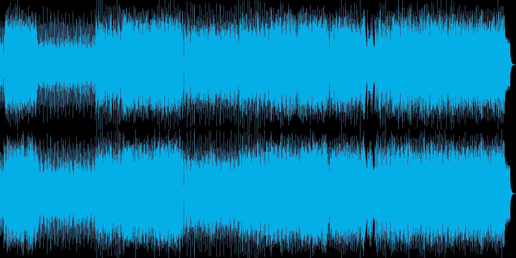 さわやか系ポップスの再生済みの波形