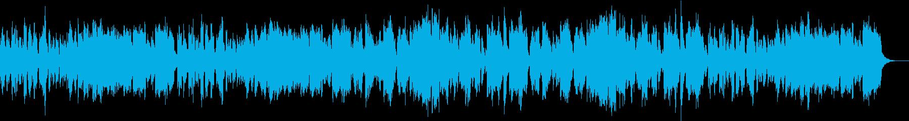 明るく軽快なトランペットのポップスの再生済みの波形