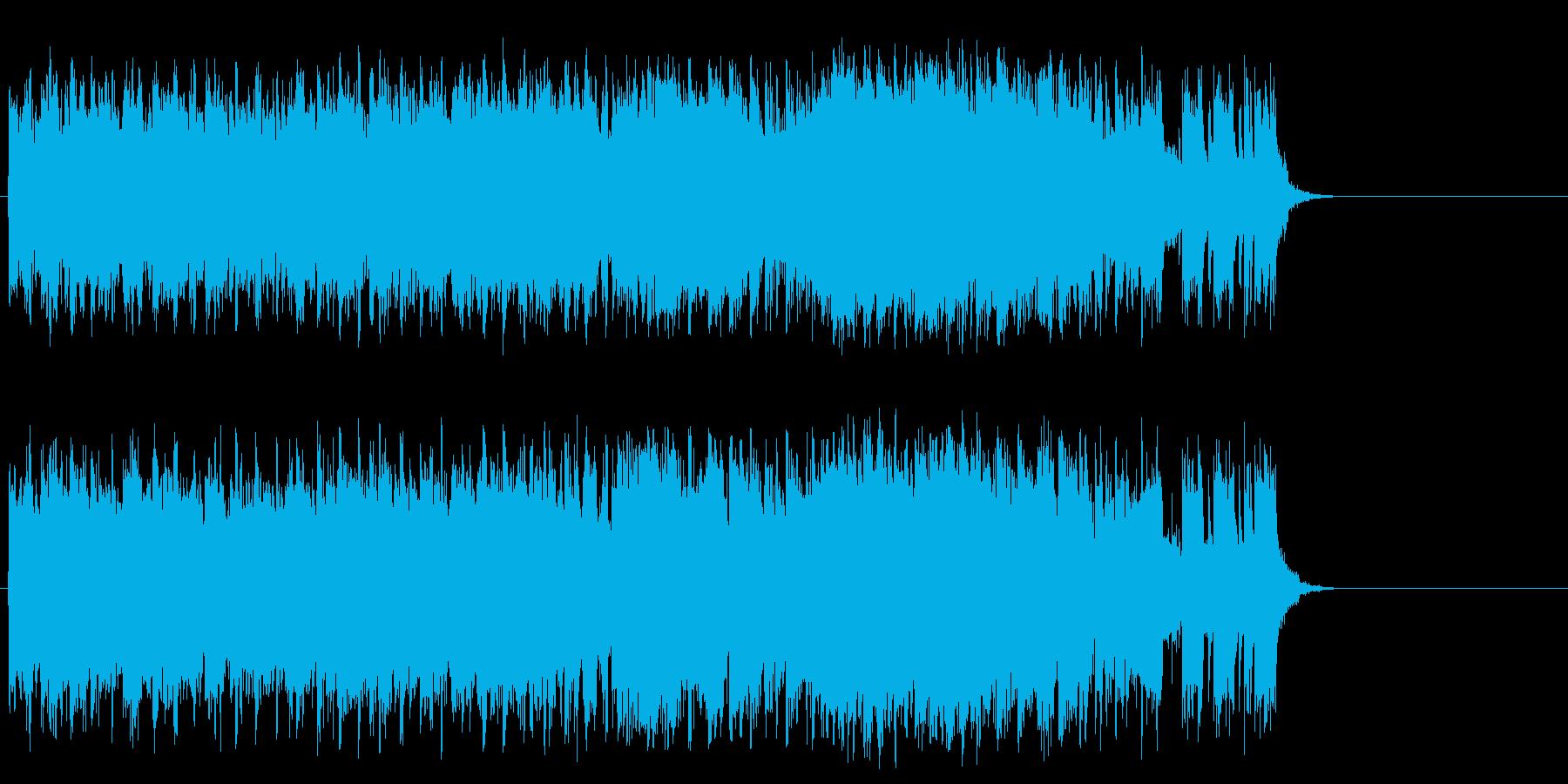 ダンサブルなポップ(サビ~エンディング)の再生済みの波形