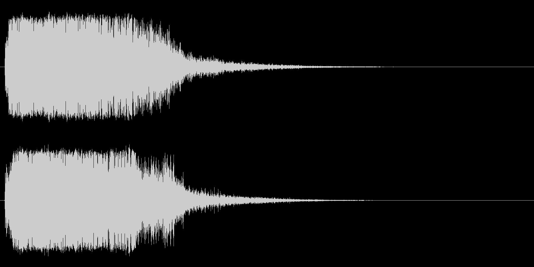 強_ジャキーン系_告知音系_09の未再生の波形