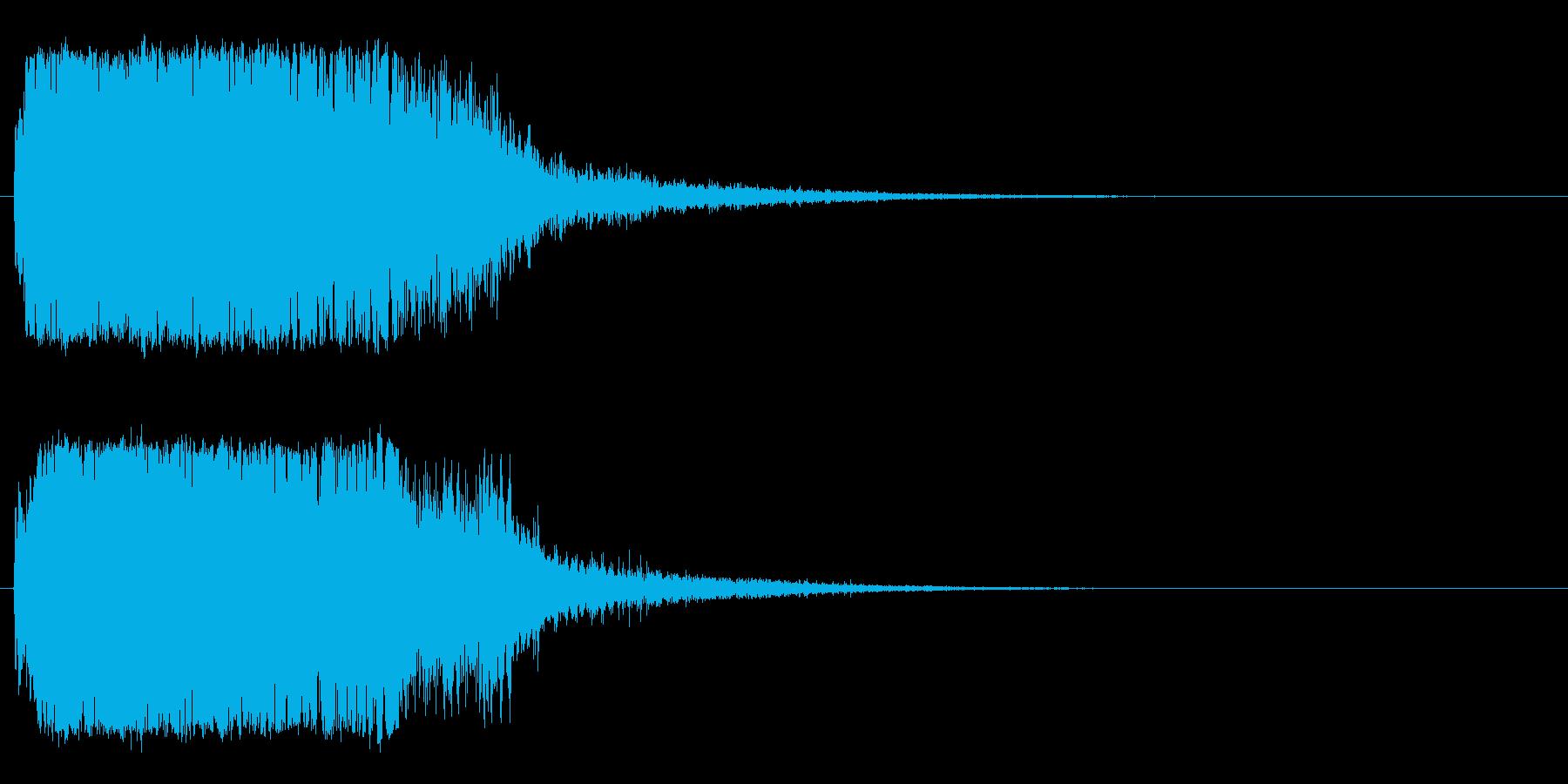 強_ジャキーン系_告知音系_09の再生済みの波形