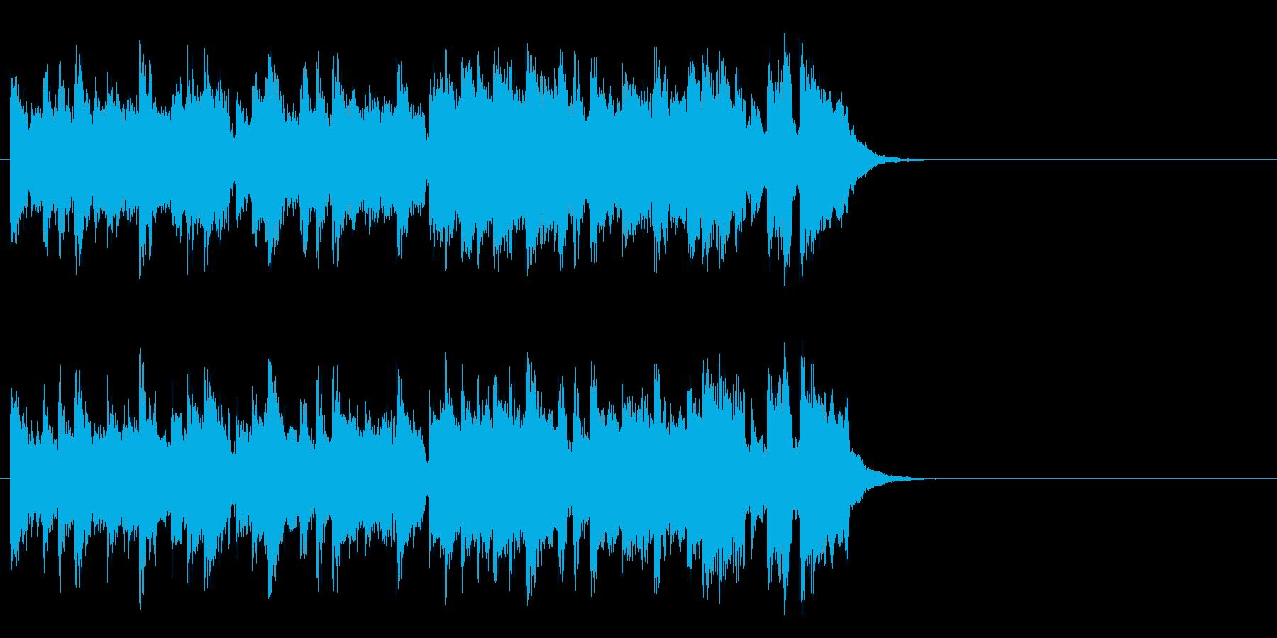 心安まるミディアムポップ(サビ)の再生済みの波形