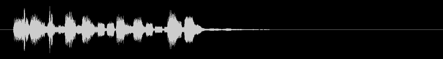 ドミソド(-1):コンピューターチックの未再生の波形