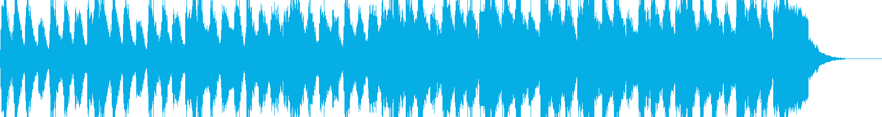 記念日、誕生日などお祝い用の合唱曲の再生済みの波形