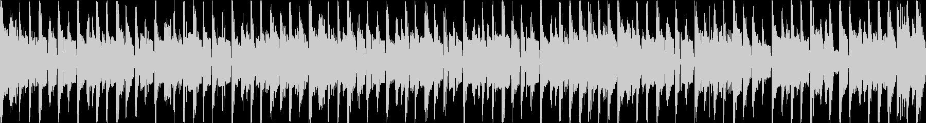 コミカルで陽気なブルースファンク・ループの未再生の波形
