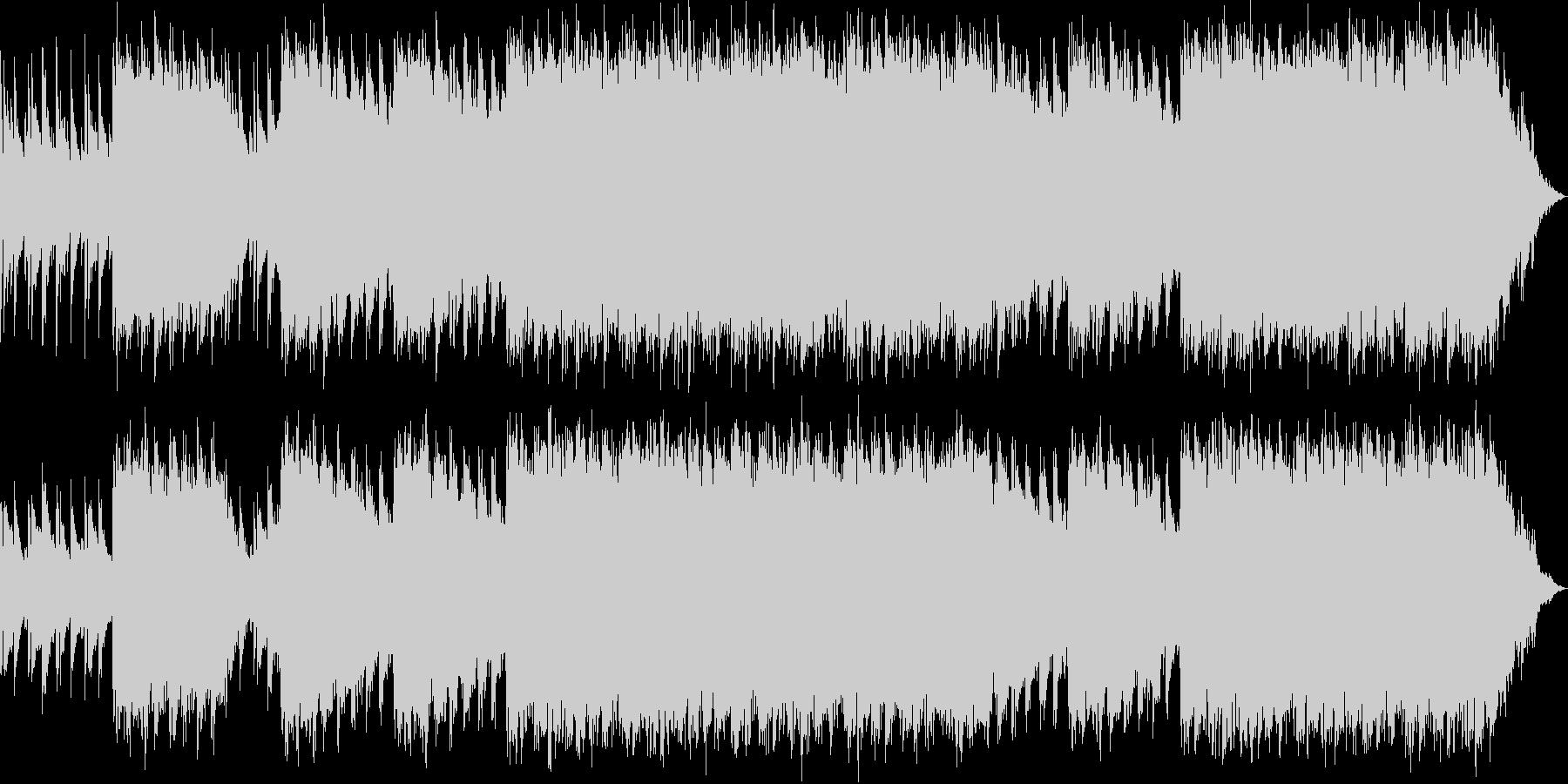 荘厳 FF風 オーケストラの未再生の波形