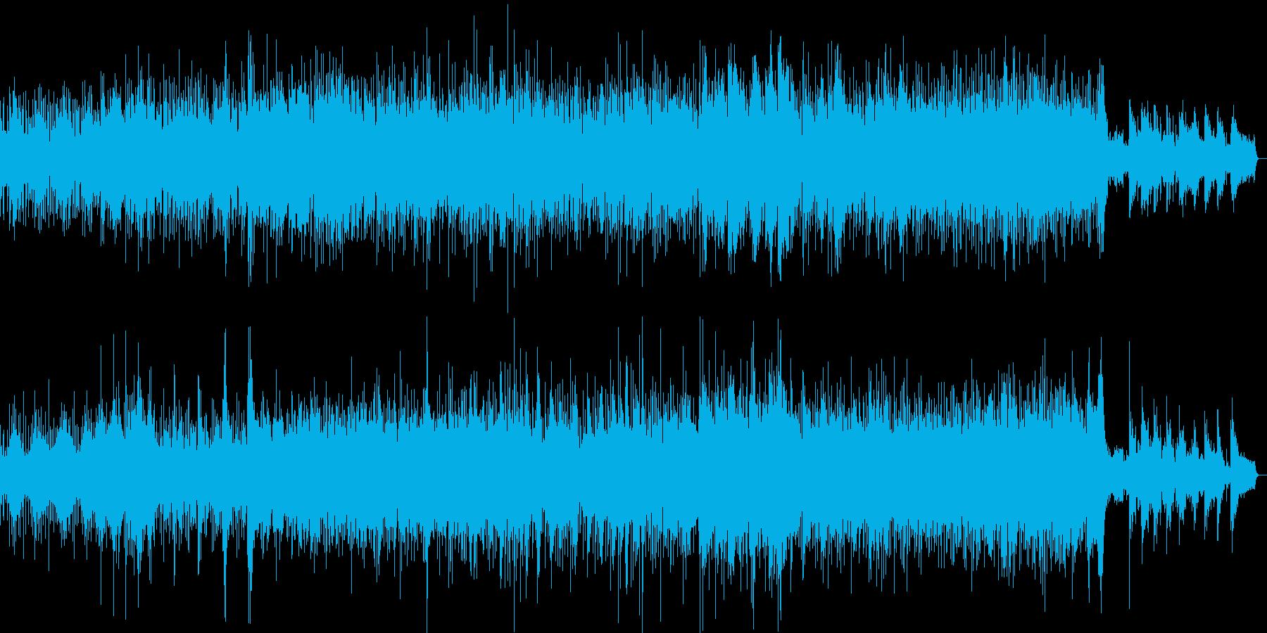 儚いイメージの曲調ですが暗すぎず、しっ…の再生済みの波形