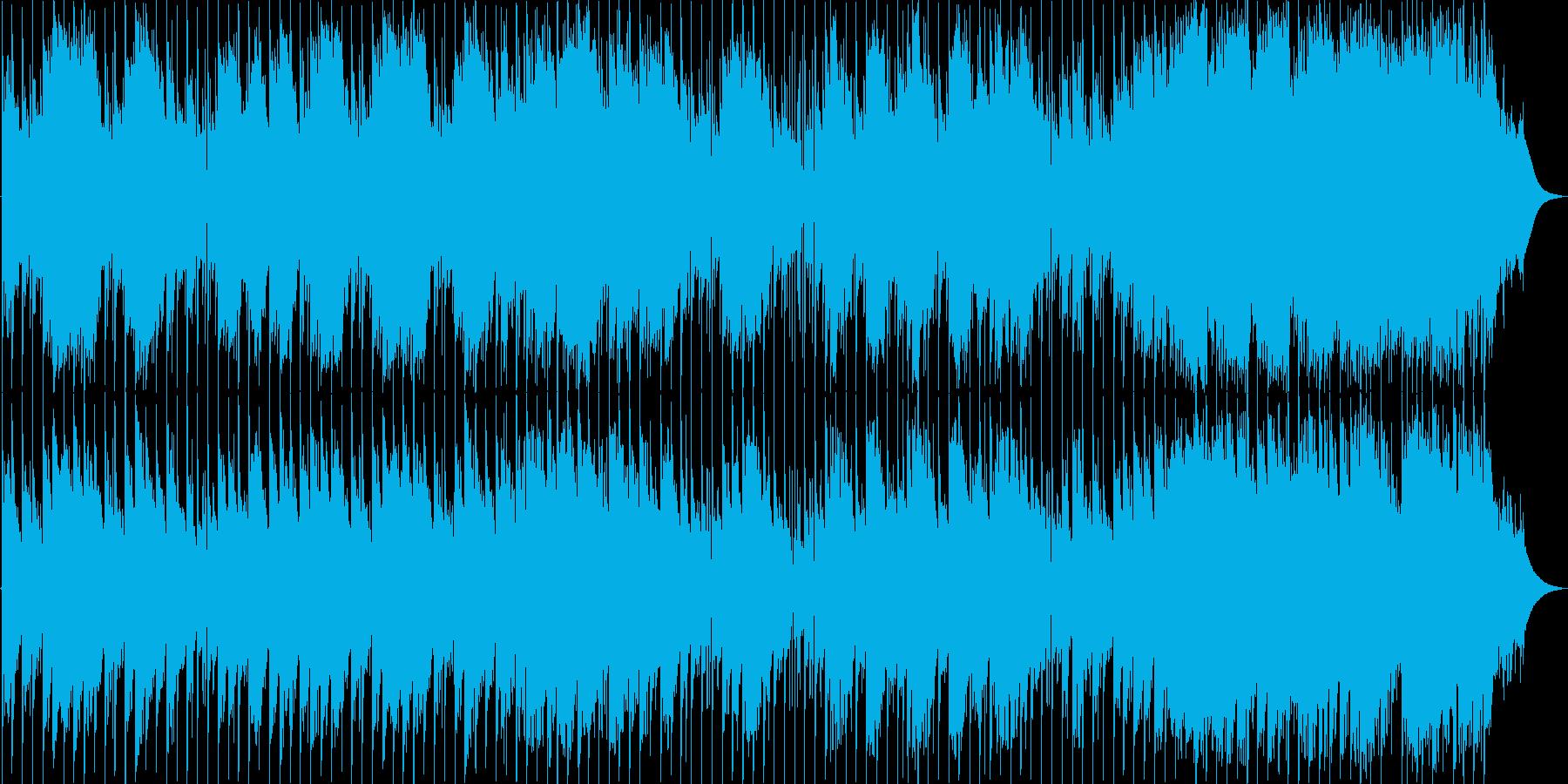 ファンタジー、迷宮、ノイズと物悲しい旋律の再生済みの波形