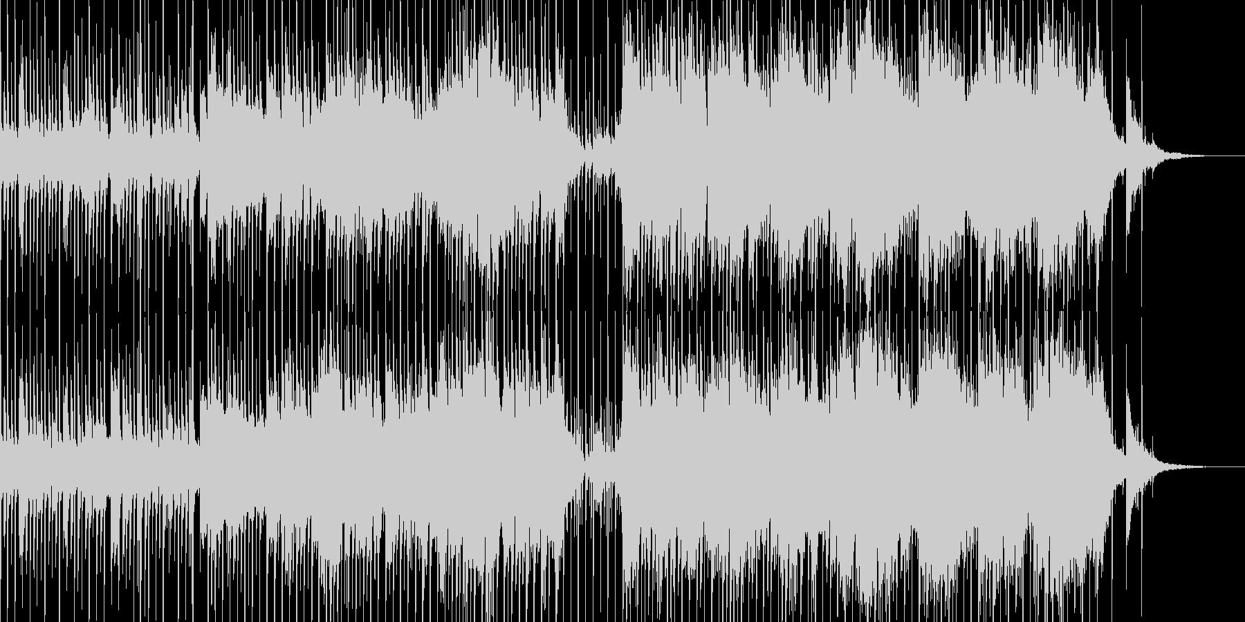 古代文明がテーマの不思議な曲の未再生の波形