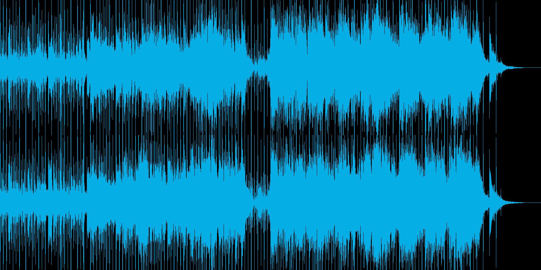 古代文明がテーマの不思議な曲の再生済みの波形