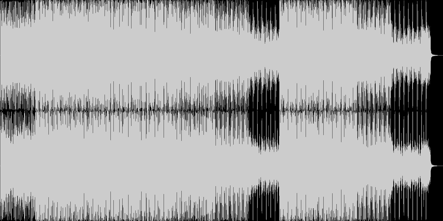 切ない雰囲気のBGMの未再生の波形