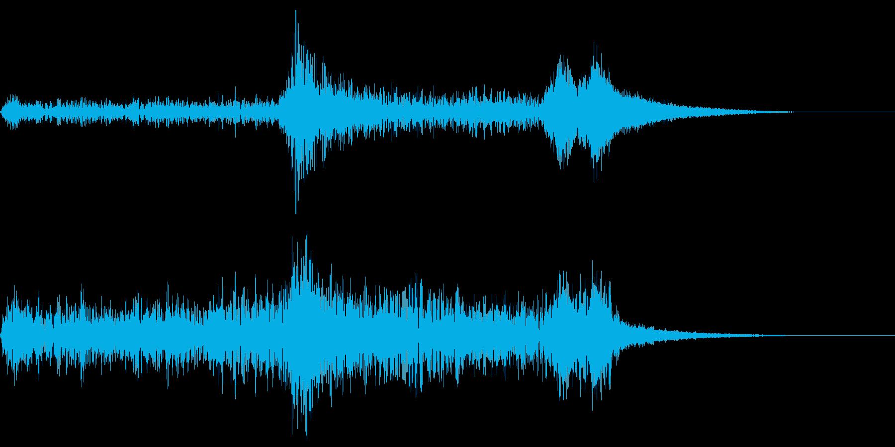 サスペンス~迫りくる恐怖・弦トレモロ~の再生済みの波形
