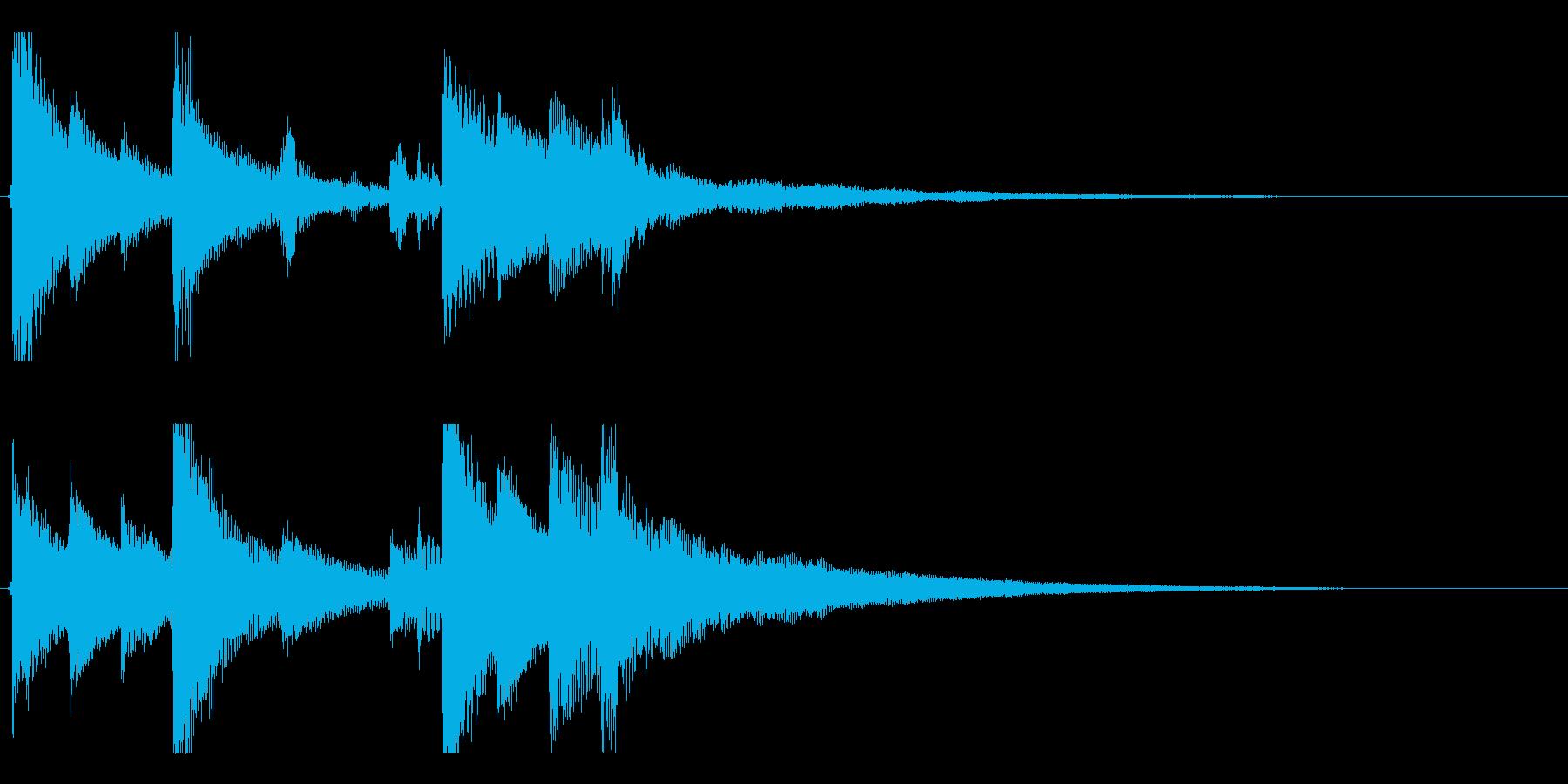 【遠い空2】の再生済みの波形
