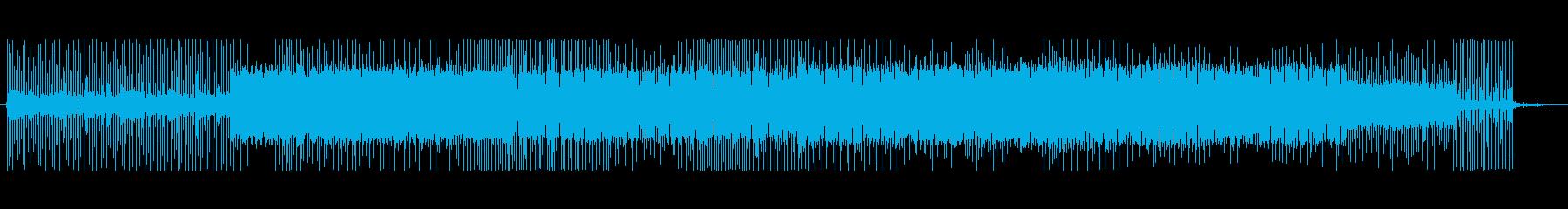 宇宙洞窟の再生済みの波形