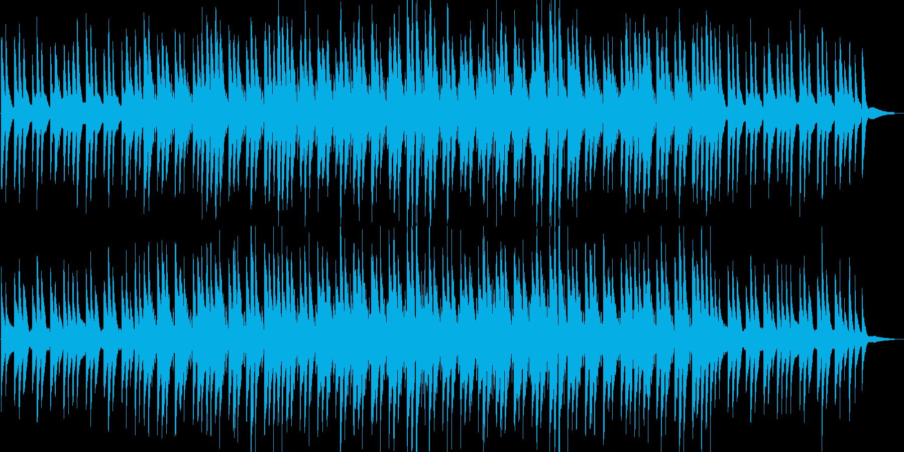 ほのぼの・ピアノ・映像・イベント用の再生済みの波形