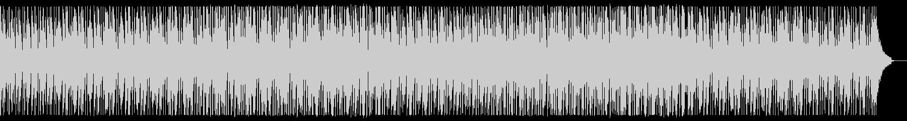 クリーンで落ち着いた説明向けのBGMの未再生の波形