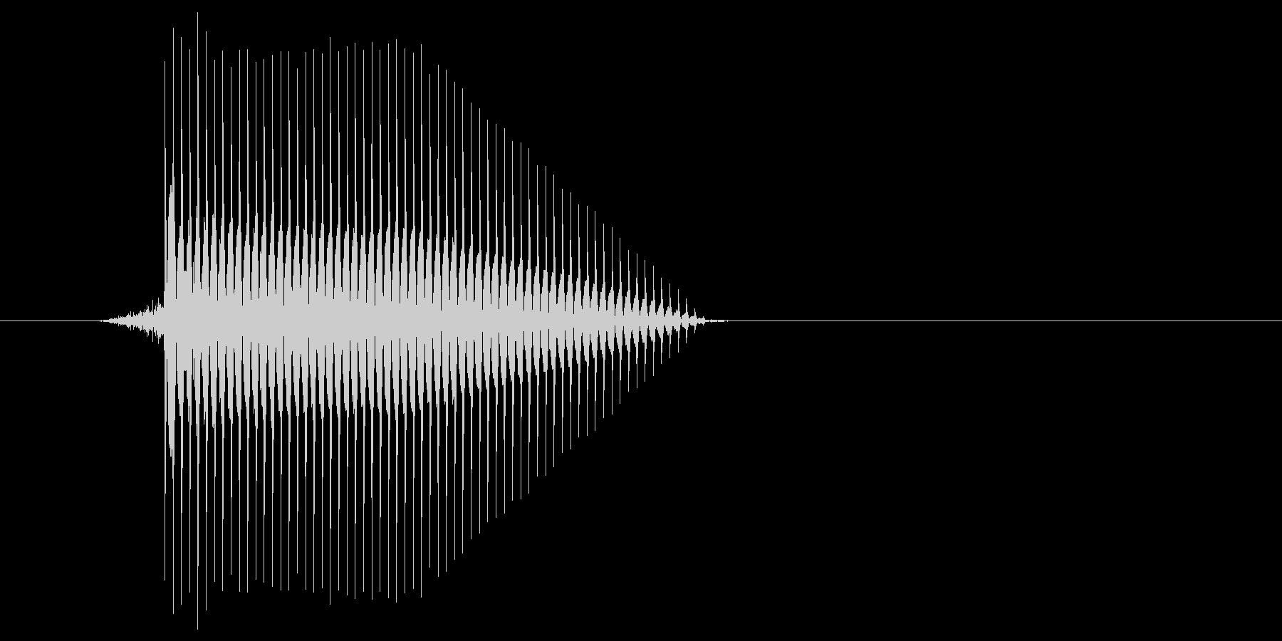 ゲーム(ファミコン風)セレクト音_041の未再生の波形