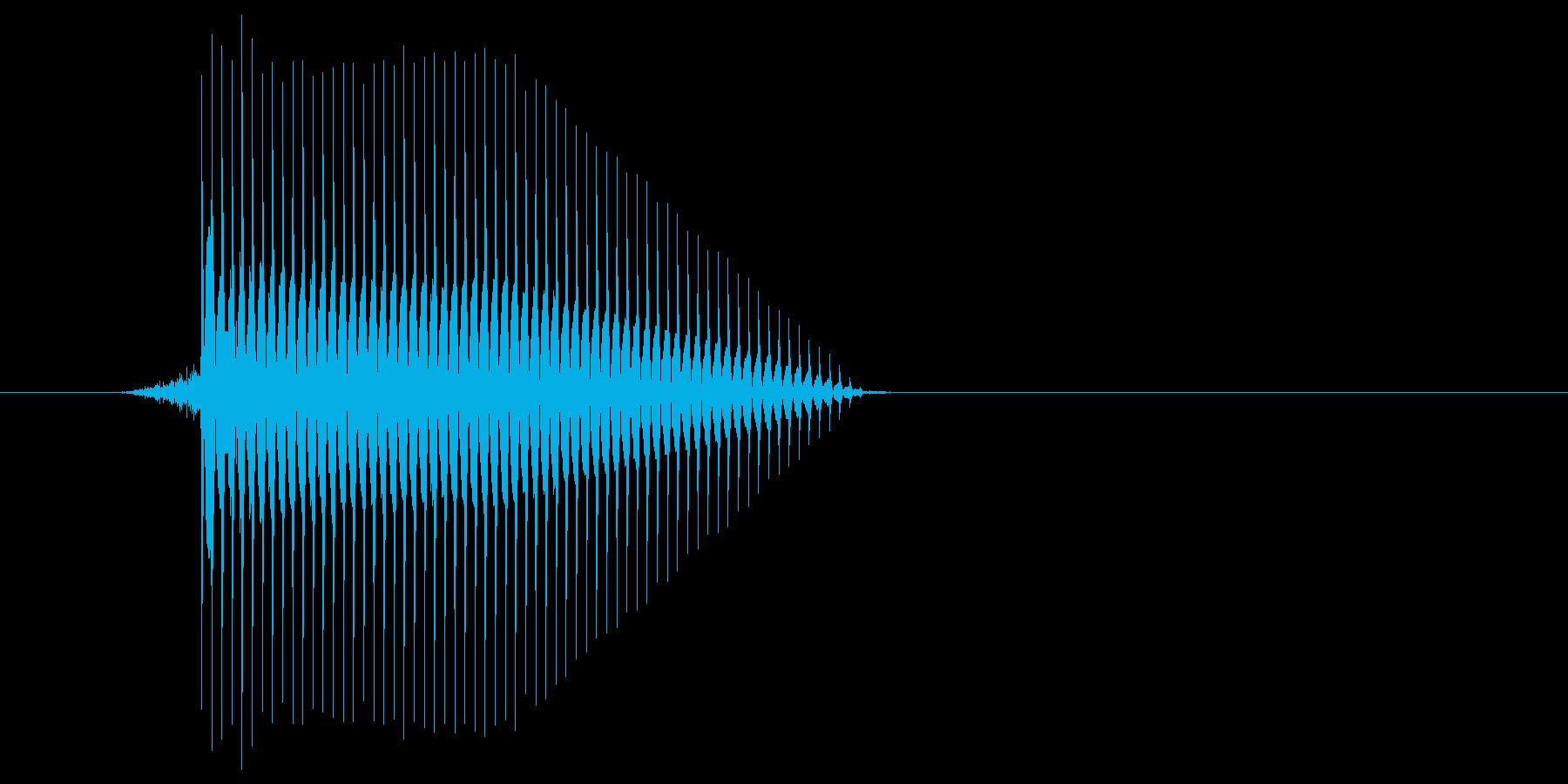 ゲーム(ファミコン風)セレクト音_041の再生済みの波形